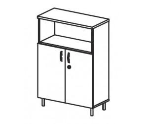 Шкаф комбинированный В415