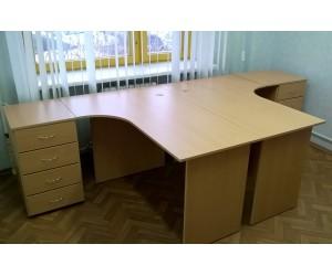 Стол на два рабочих места П2У-бук