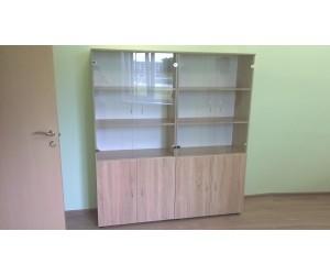 Комплект шкафов со стеклом