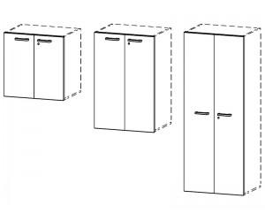 Комплект дверей ЛДСП