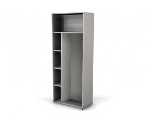 Шкаф для одежды с полками 104401