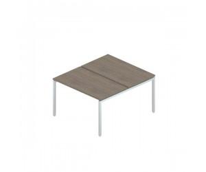 Сдвоенный стол на металлокаркасе 1380*1630*750 мм