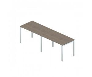 Стол комбинированный на металлокаркасе 2760х800х750 мм