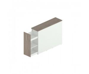 Шкаф с выдвижным ящиком 408х838х1140h мм