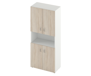 Шкаф для документов S-1174 800*380*1800 мм