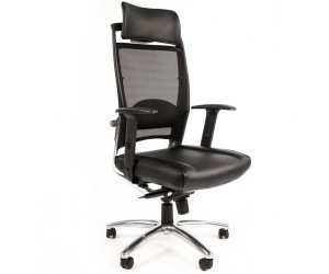 Кресло для директора CHAIRMAN Ergo 281A chrome