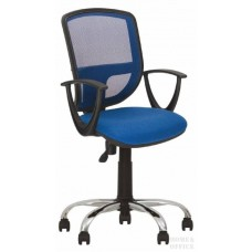 Кресло для персонала BETTA CHROME с металлической крестовиной