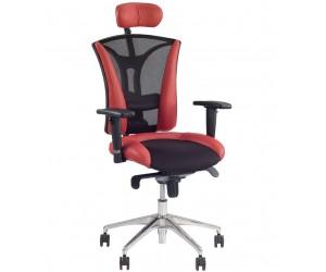 Кресло для персонала PILOT кожа LUX
