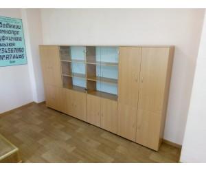 """Набор шкафов для офиса """"Практика-3"""" со стеклом"""