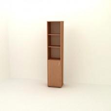 Шкаф узкий комбинированный  П06-2