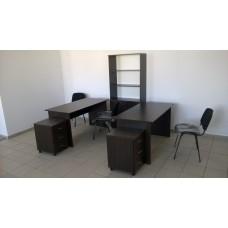 Оборудование кабинета для четырех офисных сотрудников