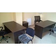 Оборудование мебелью кабинета для двух офисных сотрудников