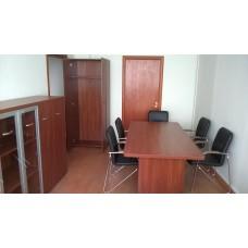 Оборудование мебелью кабинета руководителя, цвет Орех