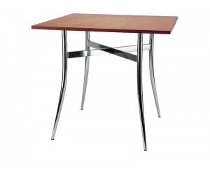Стол квадратный TRACY chrome