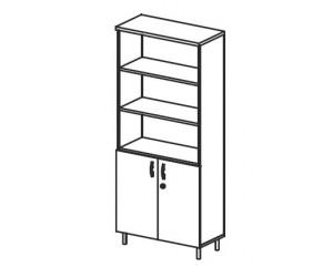 Шкаф комбинированный В427