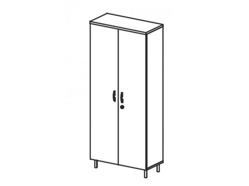Шкаф закрытый для документов В429