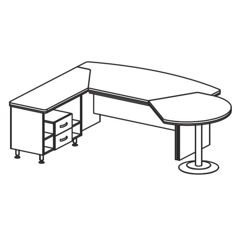 Стол руководителя ВЕ115