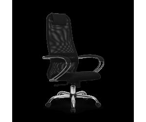 Кресло Metta SU-BK-8 chrome
