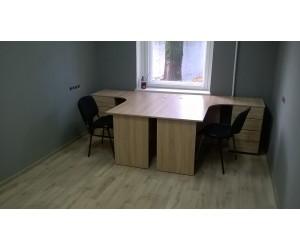 Набор офисной мебели (2 стола 2 стула), В НАЛИЧИИ!