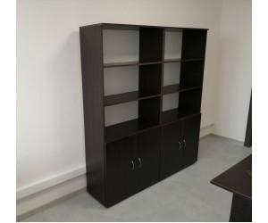 Комплект шкафов для офисов П05.2_2, цвет венге