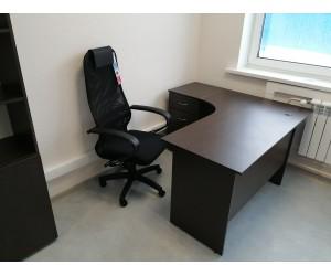 Угловое рабочее место (Стол+Кресло), венге