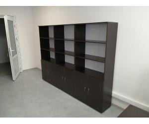 Комплект шкафов для офисов П05.2-3, цвет венге