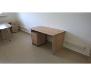 Комплект офисной мебели П1п, дуб сонома