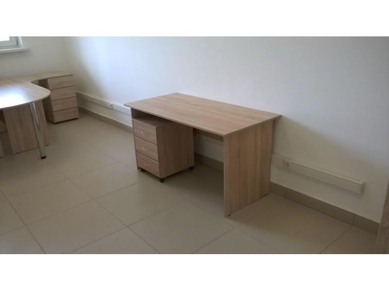 Прямой стол + тумба. В наличии!
