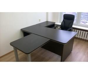 Комплект мебели для руководителя. Вельс, цвет венге магия