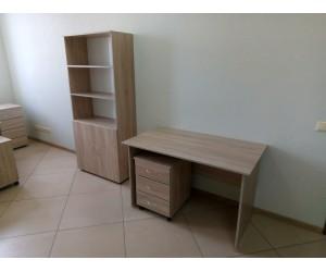 Комплект мебели в наличии (Стол+Тумба+Шкаф), дуб сонома
