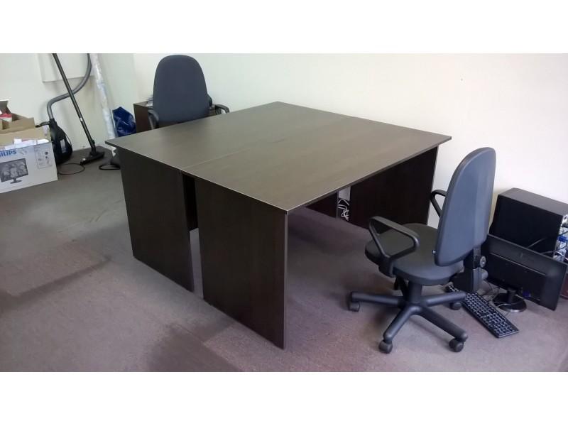 Офисные прямые столы и компьютерные стулья с доставкой по РБ