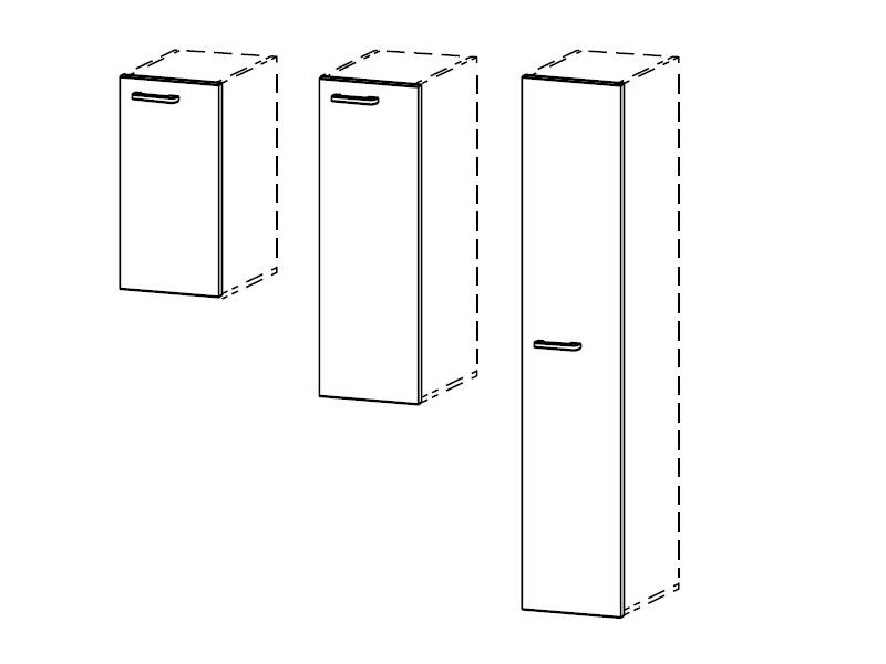 Двери ЛДСП для стеллажей