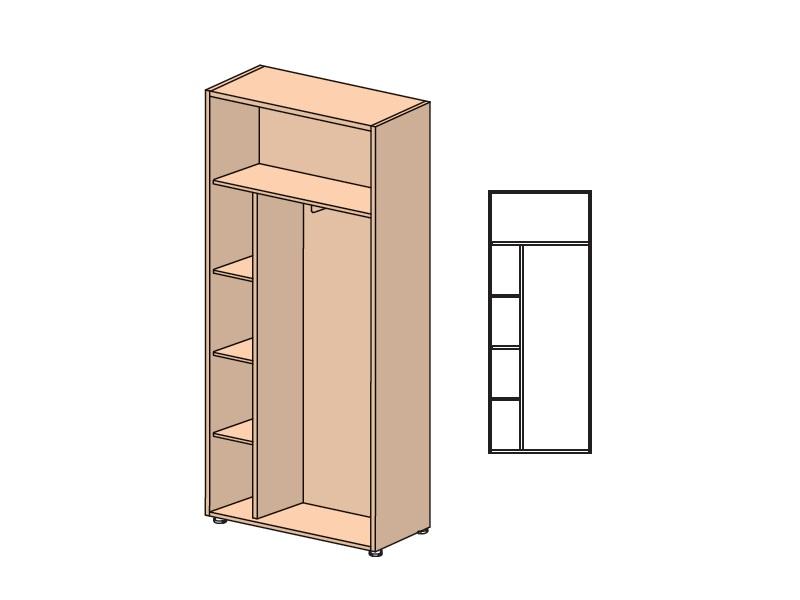 Шкаф-гардероб Смартекс 104411