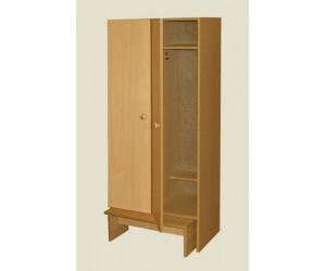Шкаф для раздевалок двухстворчатый для ДДУ
