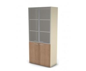 Шкаф для документов Аккорд-директор 49H032 с дверями из стекла