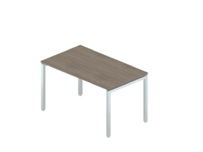 Стол прямой на металлокаркасе 1380*700*750 мм