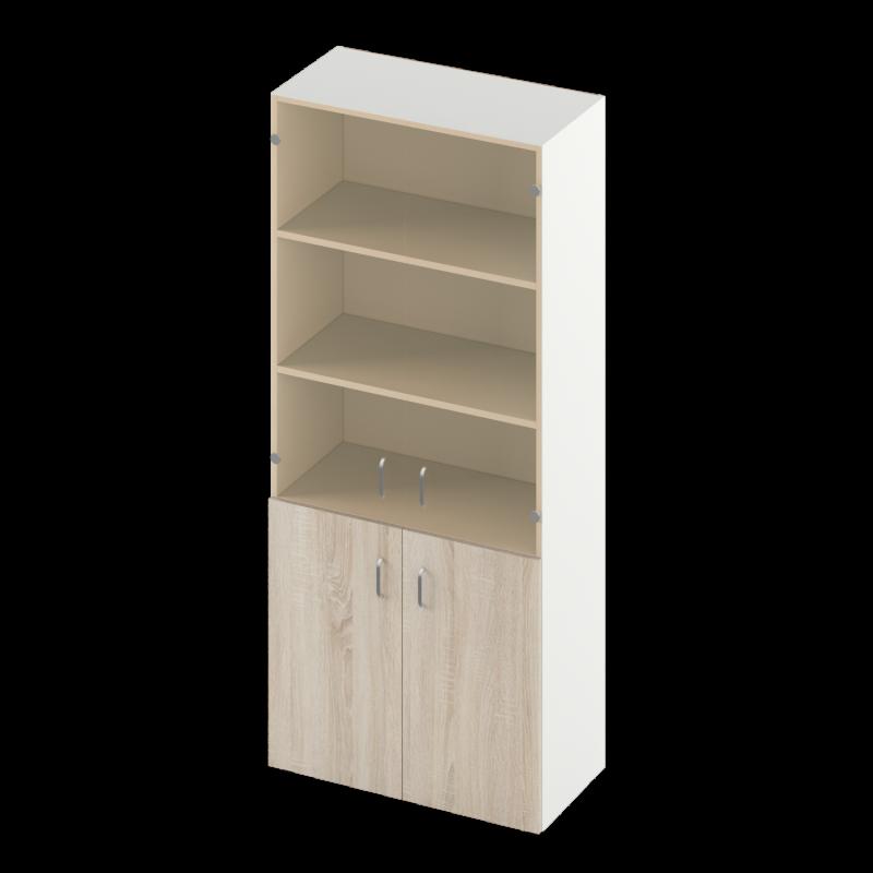 Шкаф Sity для документов со стеклом