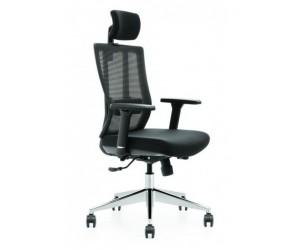 Кресло компьютерное HUASHI X3-55AS черная сетка