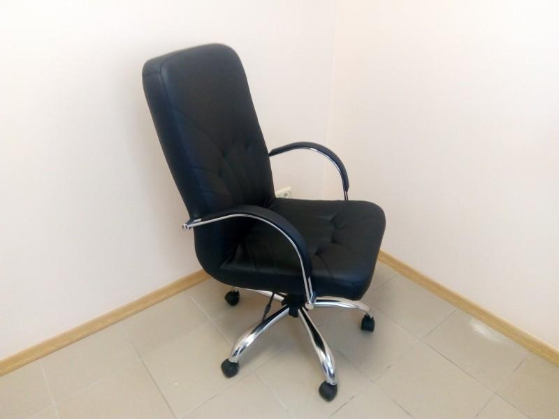 Кресло для офиса MANAGER STEEL CHROME