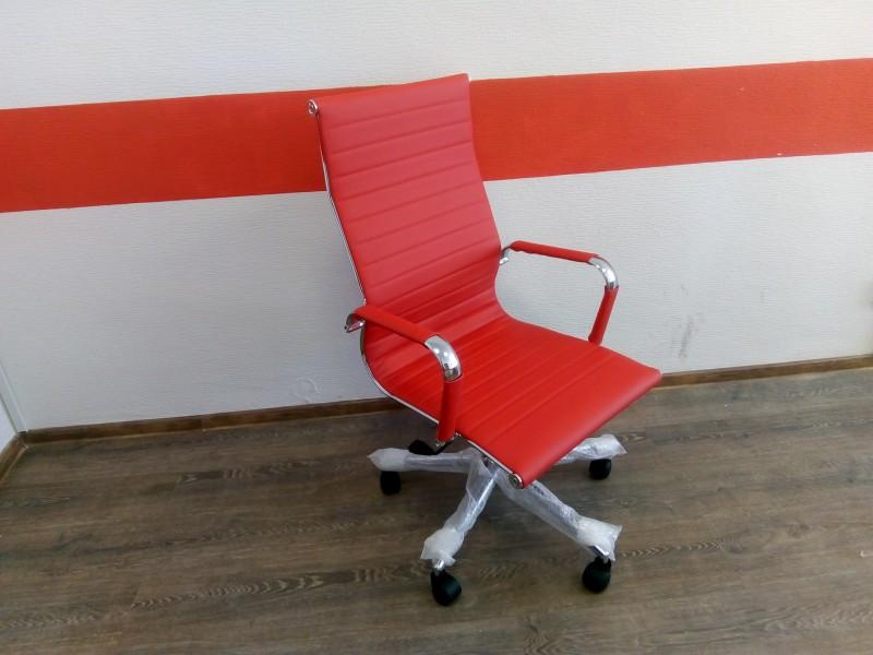 Кресло RIO pu красный