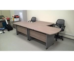 """Комплект офисной мебели на два рабочих места """"Berlin"""" B2U"""