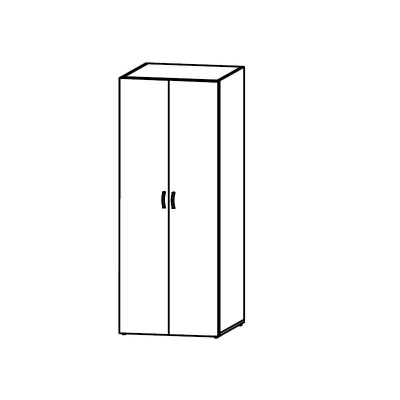 Шкаф офисный для документов КБ83.4503