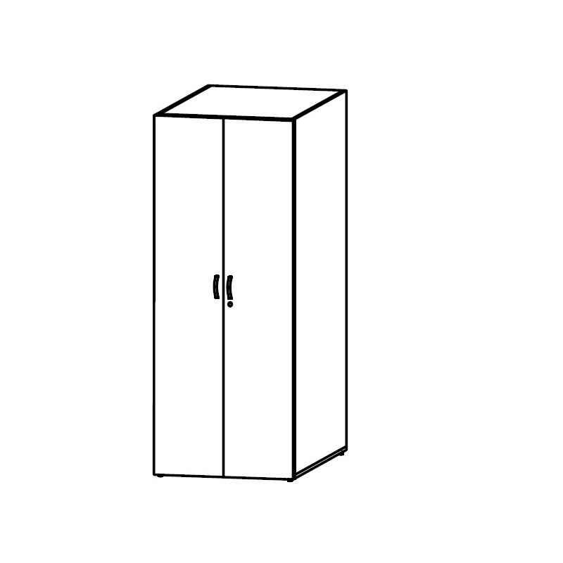 Шкаф-гардероб офисный КБ84.6503