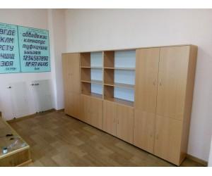 "Набор шкафов для офиса ""Практика-2""        цвет бук"