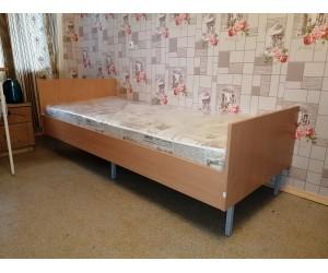 Кровать упрочненная для жилых комнат 2000*850*690 мм