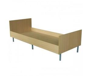 Кровать прочная для общежитий 1992х850х700 мм