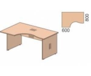 Стол письменный угловой СТ 4-16R/L
