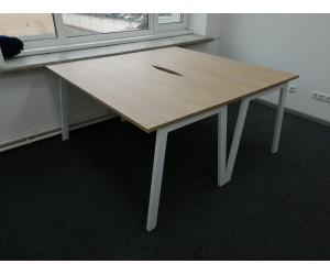 Набор столов на металлокаркасе Матрикс для двух человек