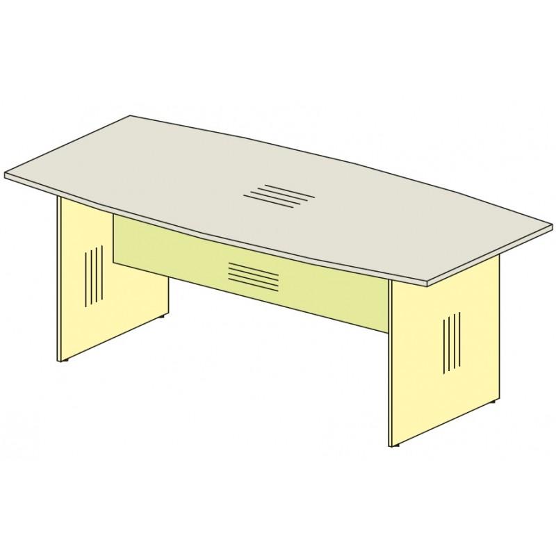 Переговорный стол на 8-10 человек. Артикул 76S061