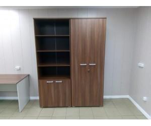 Набор высоких шкафов для офиса. Серия Смарт